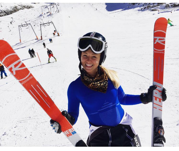 Roberta Melesi in Austria (Pag. FB ufficiale)