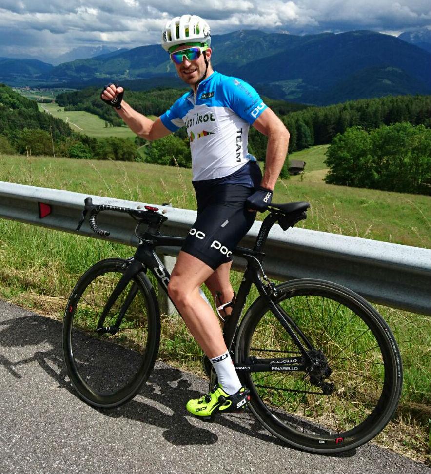 Manni e la bici, passione infinita...