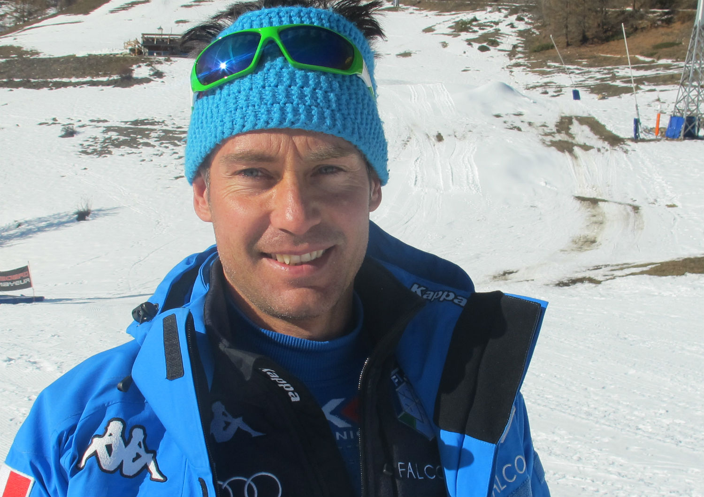 Giancarlo Begamelli, allenatore del gigante azzurro ©Gabriele Pezzaglia