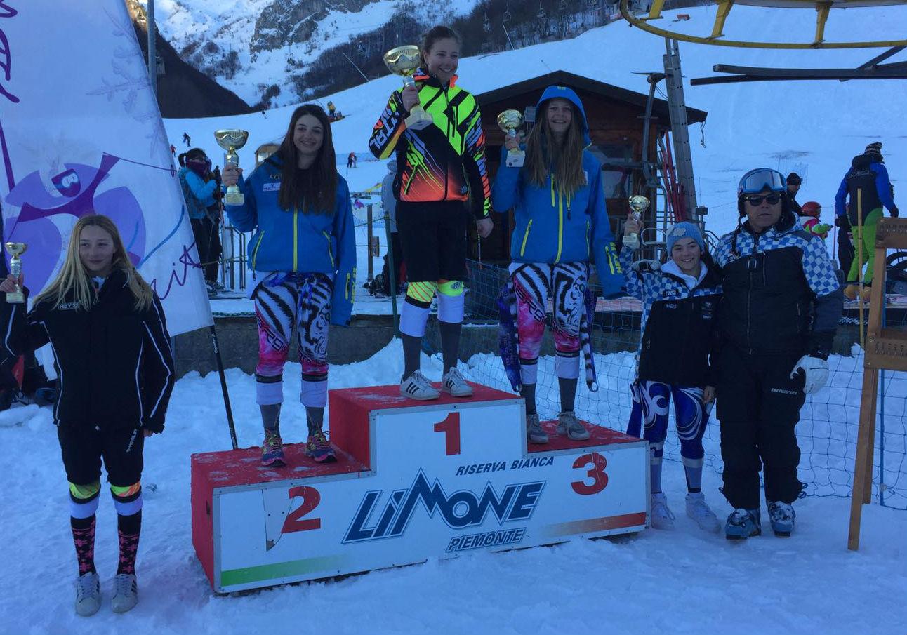 Quinta classificata Nicole Bruzzone