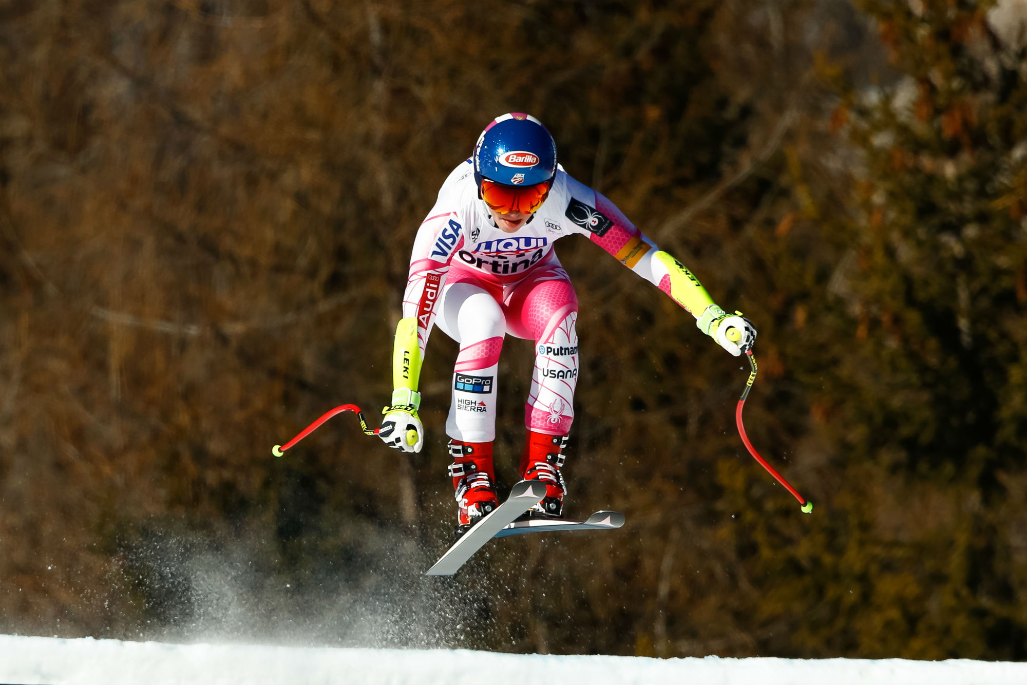 Mikaela Shiffrin a Cortina (@Zoom agence)