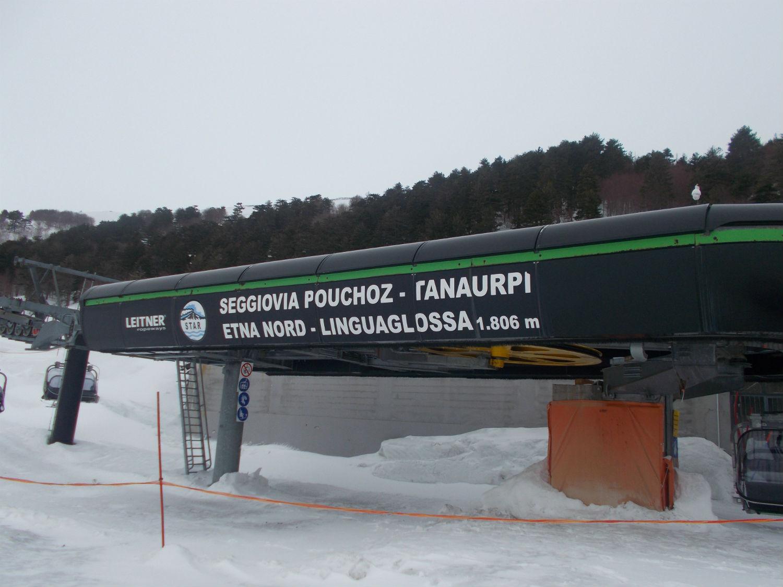 La seggiovia Tanaurpi che porta alla finish area ©Gabriele Pezzaglia