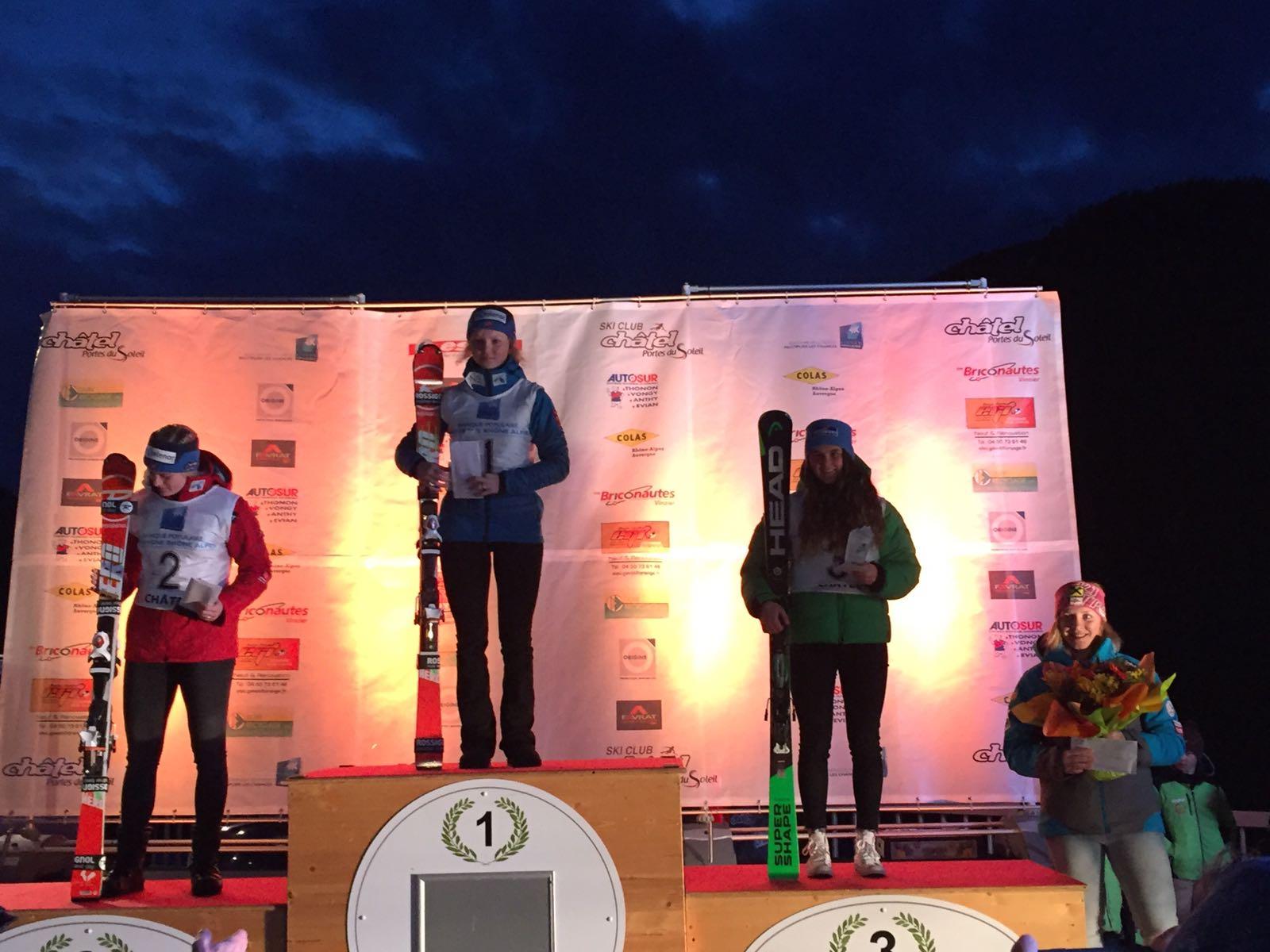Lysdahl, Riis-Johannessen e Pirovano sul podio del primo gigante a Chatel