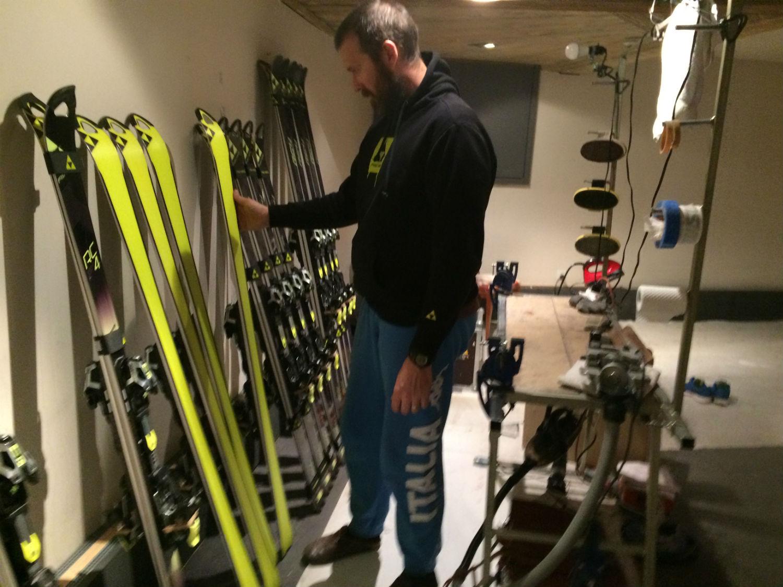 Patrick Luzzo Merlo in skiroom ©Gabriele Pezzaglia