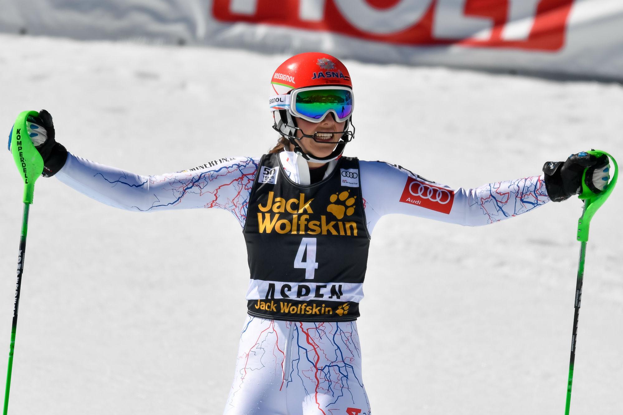 Petra Vlhova, un trionfo meritatissimo che sa di liberazione (@Zoom agence)