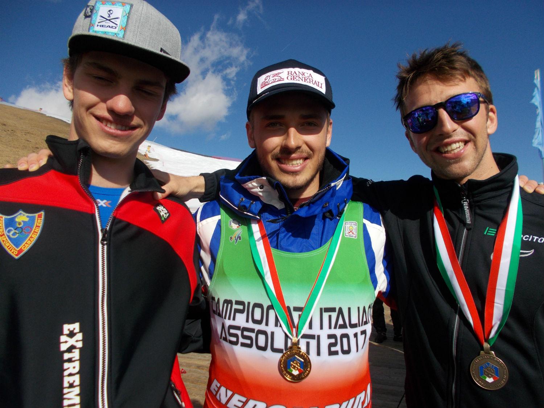 Il podio degli Italiani Assoluti ©Gabriele Pezzaglia