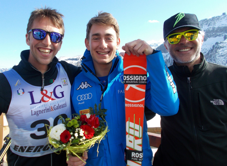 Campione Assoluto di GS Giulio Bosca e Giovani Giulio Zuccarini con Simone Stiletto ©Gabriele Pezzaglia