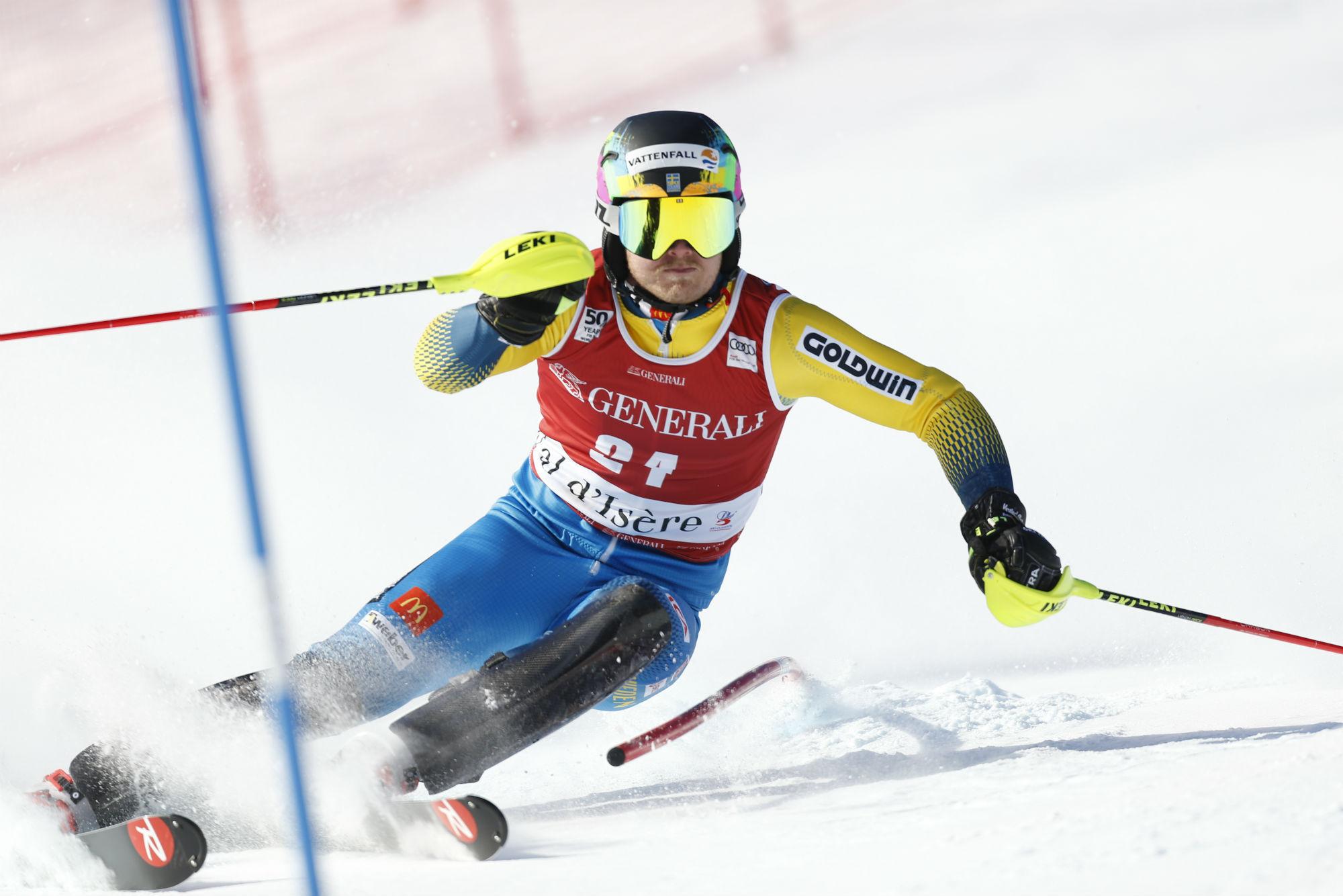 Il campione svedese in azione (@Zoom agence)