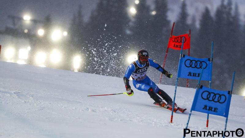 Ski World Championships 2019, Are (SWE), 12/2/2018, Simon Maurberger (ITA), Photo by Gabriele Facciotti, Pentaphoto