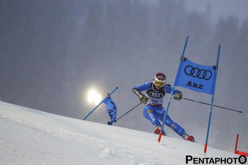 Ski World Championships 2019, Are (SWE), 12/2/2018, Irene Curtoni (ITA), Photo by Gabriele Facciotti, Pentaphoto