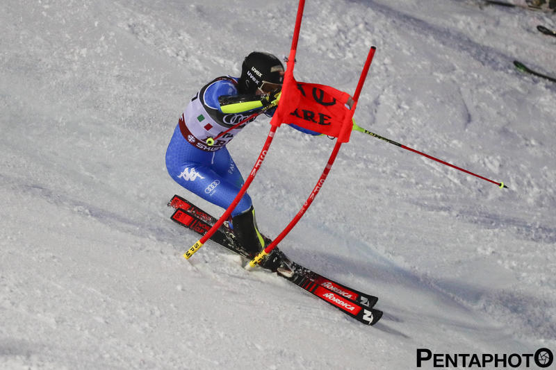 Ski World Championships 2019, Are (SWE), 12/2/2018, Alex Vinatzer (ITA), Photo by Gabriele Facciotti, Pentaphoto