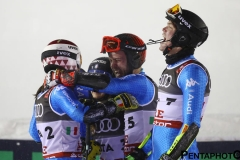 Ski World Championships ARE 2019 , Are, Sweden.12/2/2019.Team Italy bronze medalist in team event. photo:Pentaphoto/Alessandro Trovati.