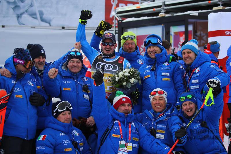 Fis Alpine  World Ski Championships 2019.   Dominik Paris (ITA) Gold medal in superg      Are, 06 febbraio 2019. Photo: Marco Trovati/Pentaphoto