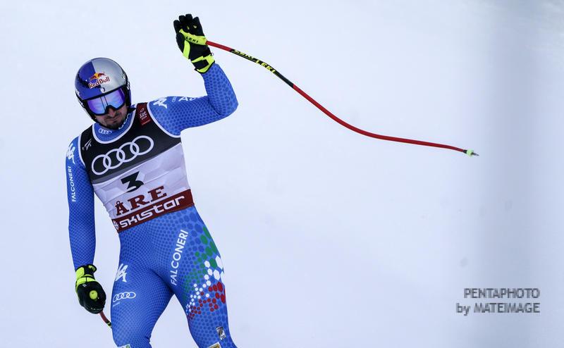 Fis Alpine Ski World Championships 2019.  Dominik Paris (ITA).  Are (SWE), 6 Febbraio 2019. Photo: Gio Auletta / Pentaphoto