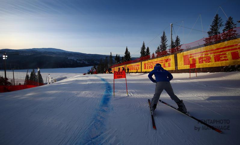 Ski World Championships ARE 2019 , Are, Sweden. 6/2/2019. Dominik Paris (Ita) Super-g World Champion. photo:Pentaphoto/Alessandro Trovati.