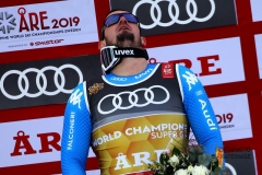 Fis Alpine  World Ski Championships 2019.   Dominik Paris (ITA) Gold medal in superg      Are, 06 febbraio 2019. Photo: Marco Trovati/Pentaphoto