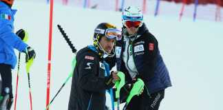 Marcel Hirscher e Henrik Kristoffersen in ricognizione
