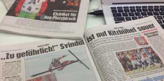 Il titolo questo mattina sul Kronen Zeitung
