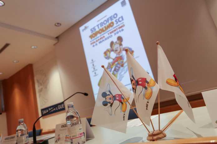 Presentazione alla stampa del Trofeo Topolino