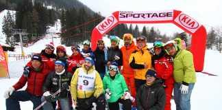 Partecipanti e organizzatori della prima edizione de La Gara dei Sogni