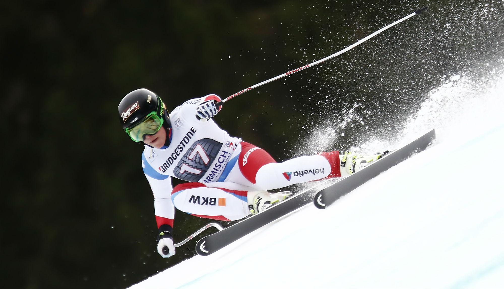 Lara Gut in azione a Garmisch-Partenkirchen @Zoom Agence