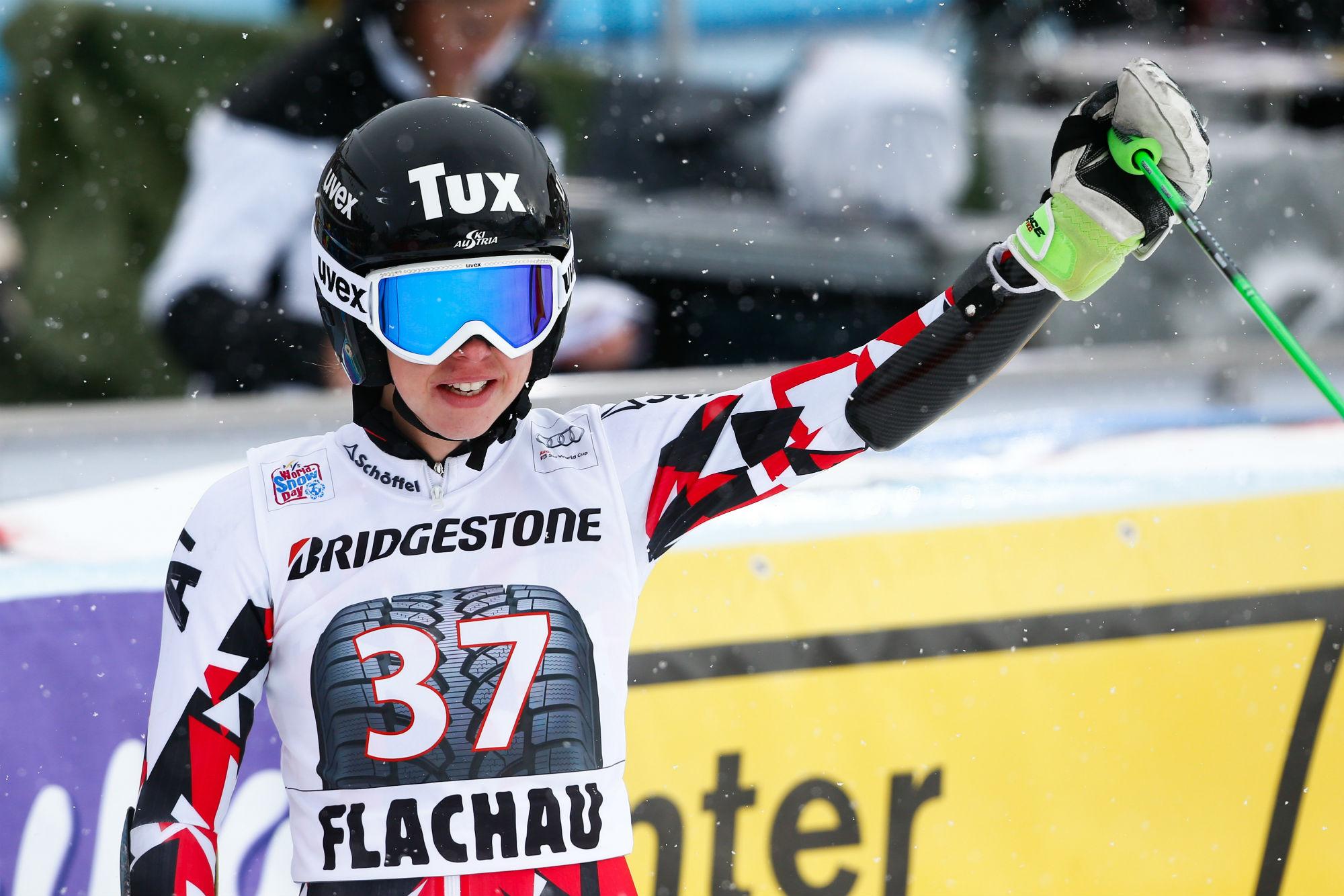 Stephanie Brunner in Coppa del Mondo a Flachau #Zoom Agence