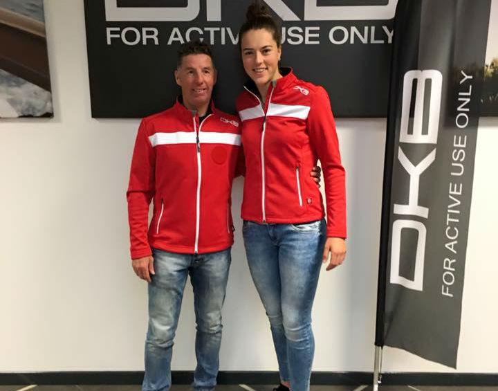 Livio Magoni con Petra Vlhova @Pag. FB ufficiale Vlhova