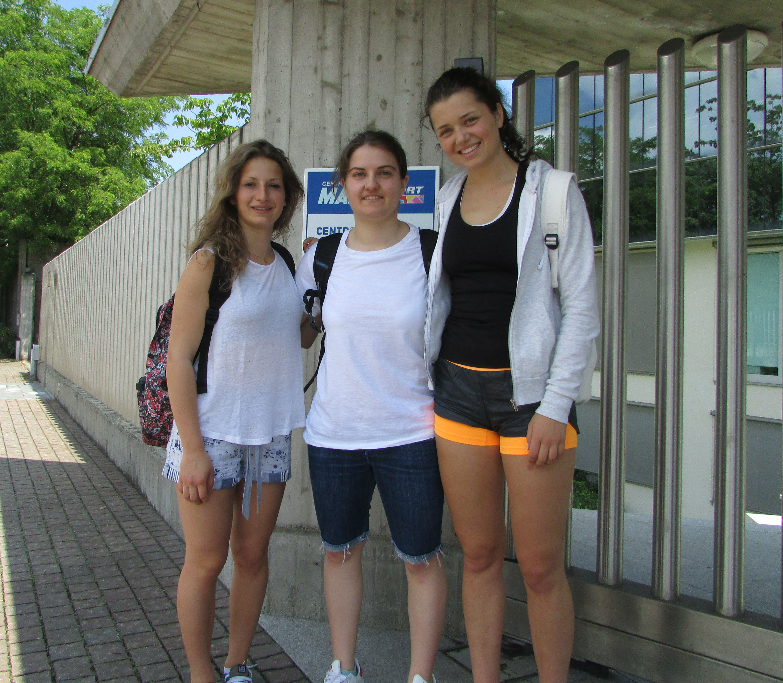 Lara Della Mea, Giulia Lorini e Vera Tschurtschenthaler