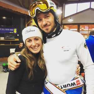 Nadia Fanchini a Ushuaia con Felix Neureuther (@Pag. FB ufficiale Fanchini)