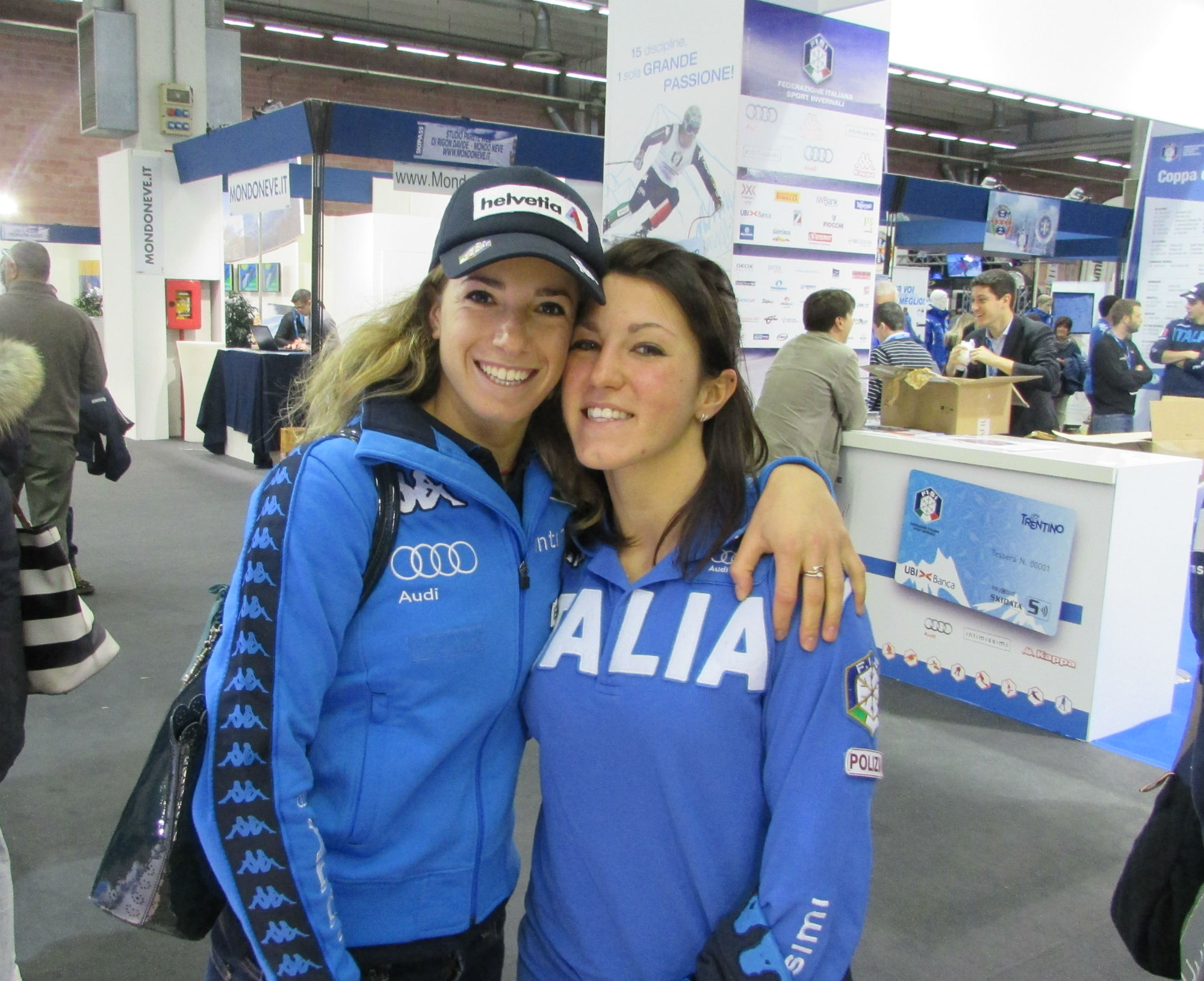 Marta Bassino e Nicole Agnelli a Skipass 2015