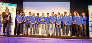 La squadra francese maschile di sci alpino