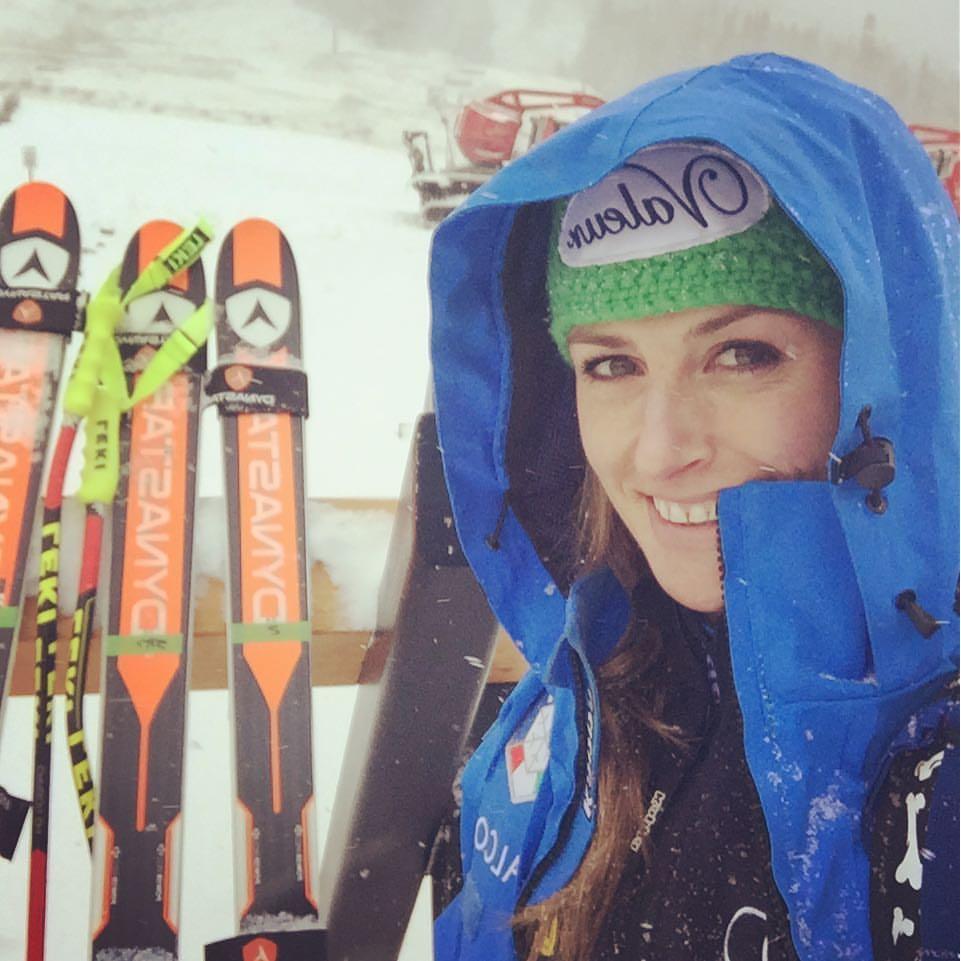 Nadia Fanchini sotto la neve in Colorado (pag. FB ufficiale)