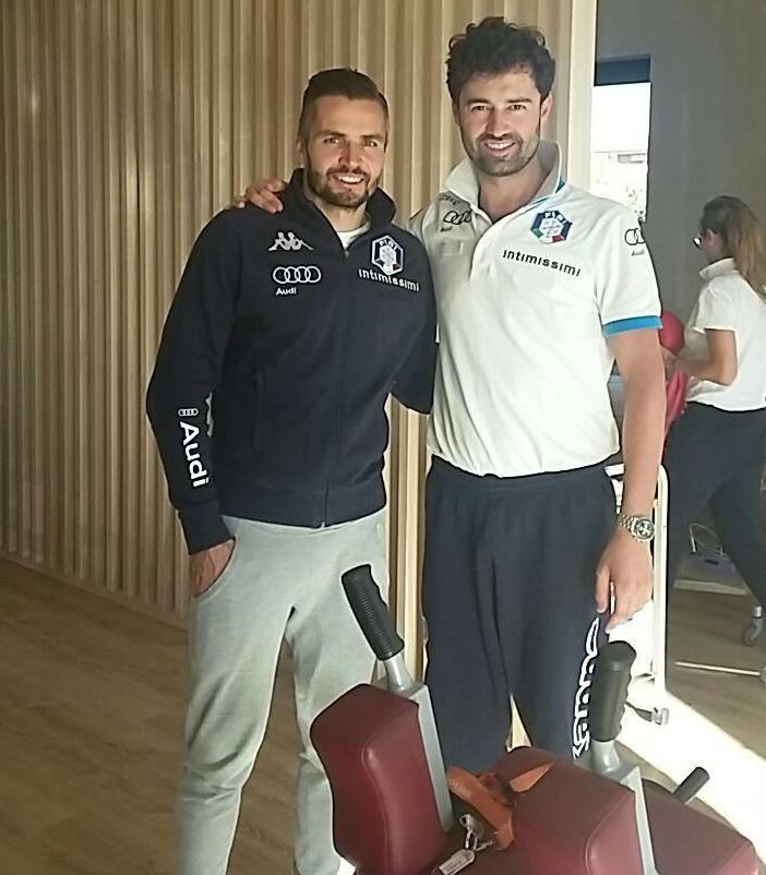 Patrick Thaler e Luca Caselli