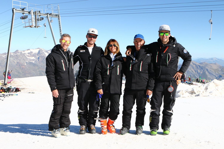 I tecnici dello Ski College Limone