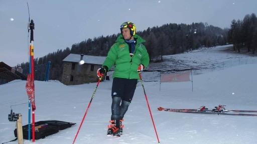 Roberto Nani prima dell'allenamento ©Carosello 3000