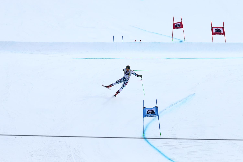 Marcel Hirscher in azione nel finale della Gran Risa @Andrae Chiericato