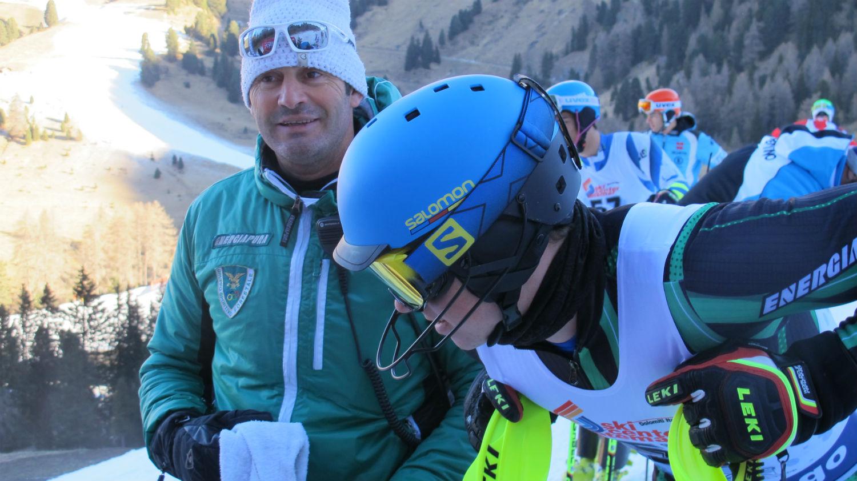 Giovanni Pasini della Forestale con Ernesto De Mattia in partenza ©Gabriele Pezzaglia