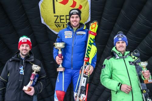 Il podio ©FISI Trentino