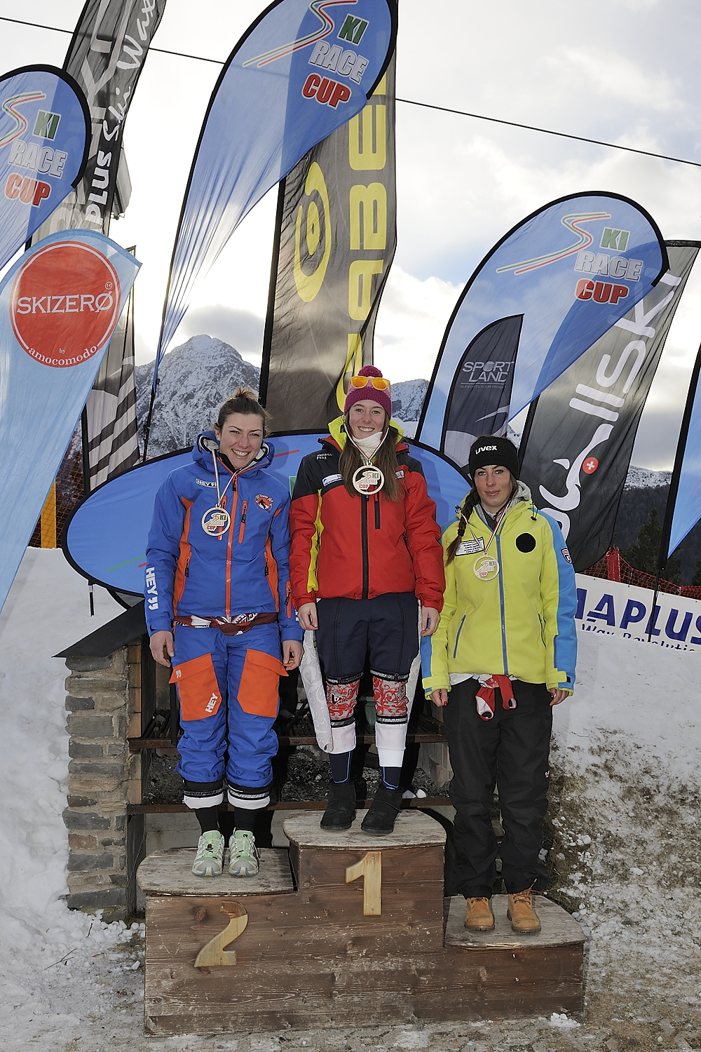Podio Senior femminile ©Ski Race Cup