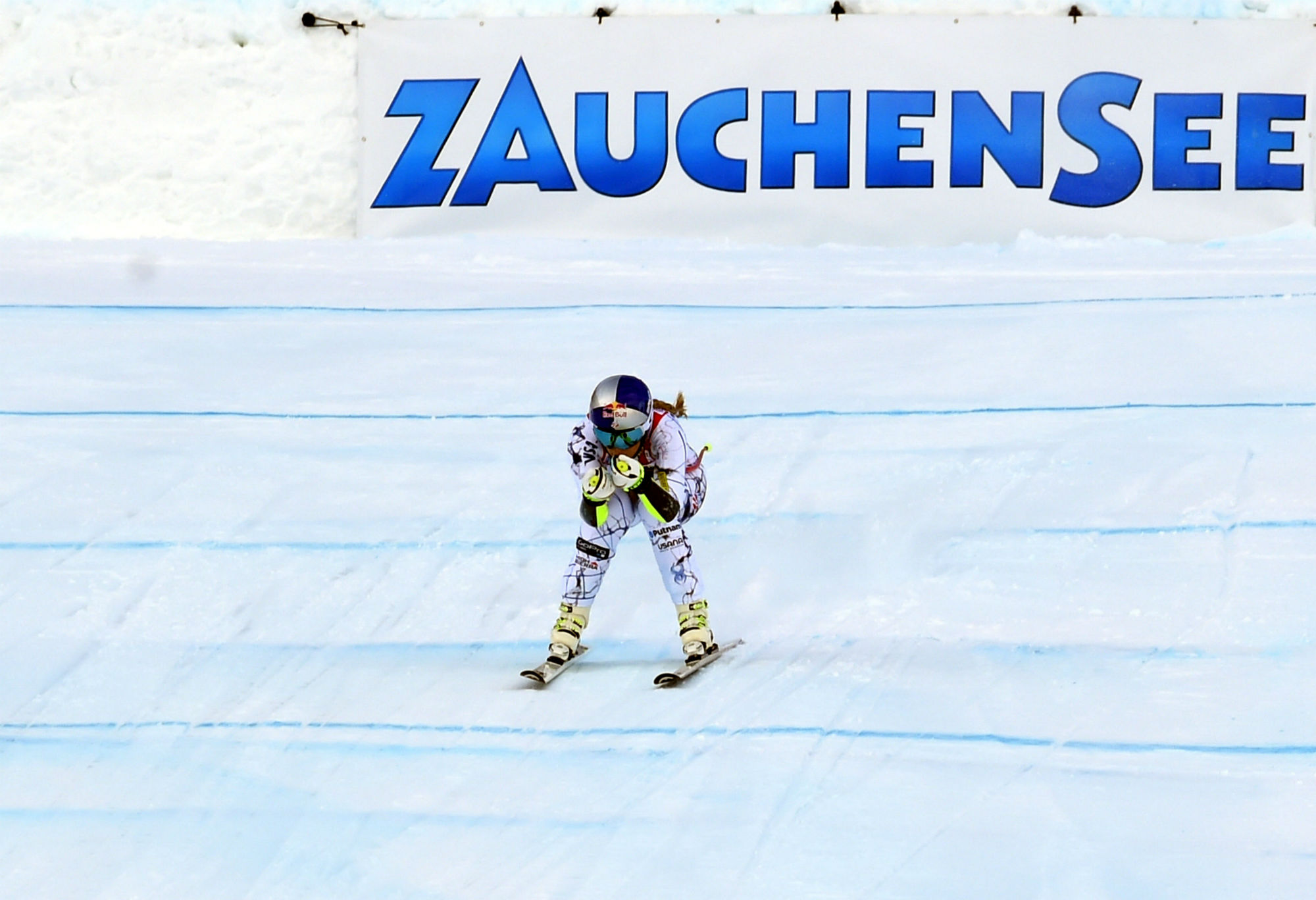 Lindsey Vonn al traguardo in Austria (@Zoom agence)