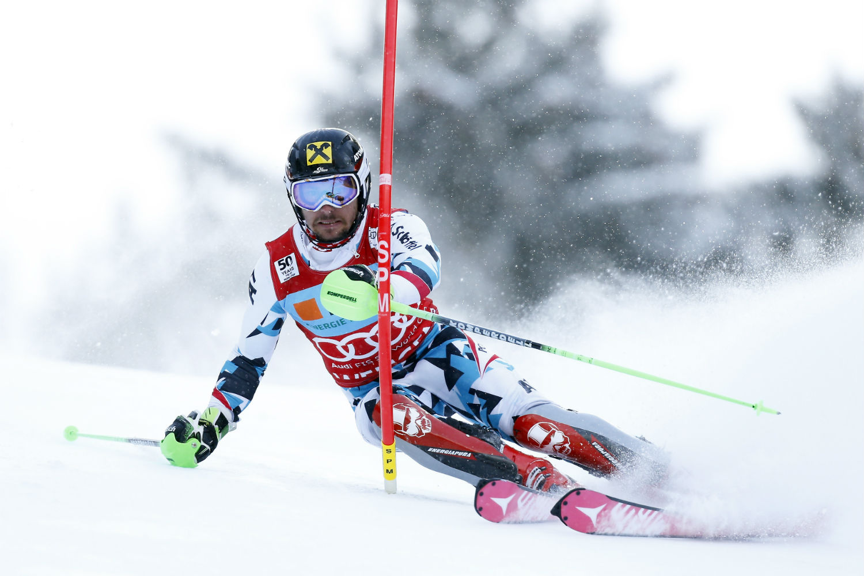 Marcel Hirscher in azione ©Agence Zoom