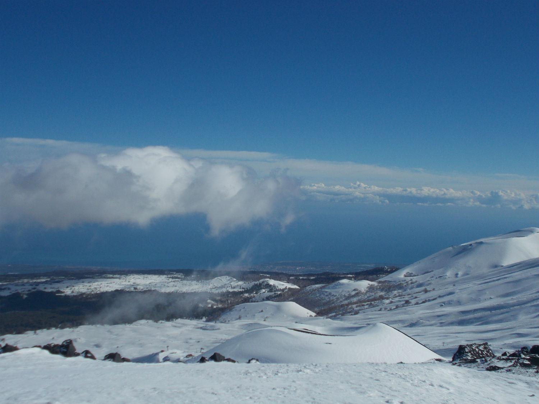 Vista dal versante Nord dell'Etna ©Gabriele Pezzaglia