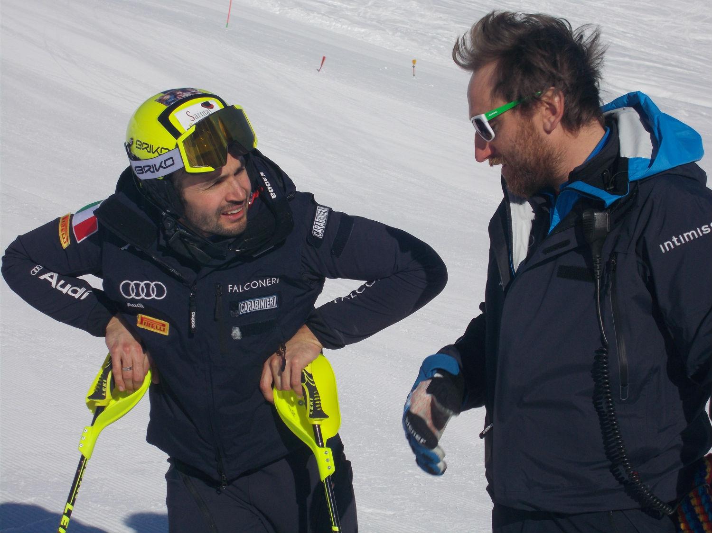 Patrick Thaler e Daniele Simoncelli a Livigno @Gabriele Pezzaglia