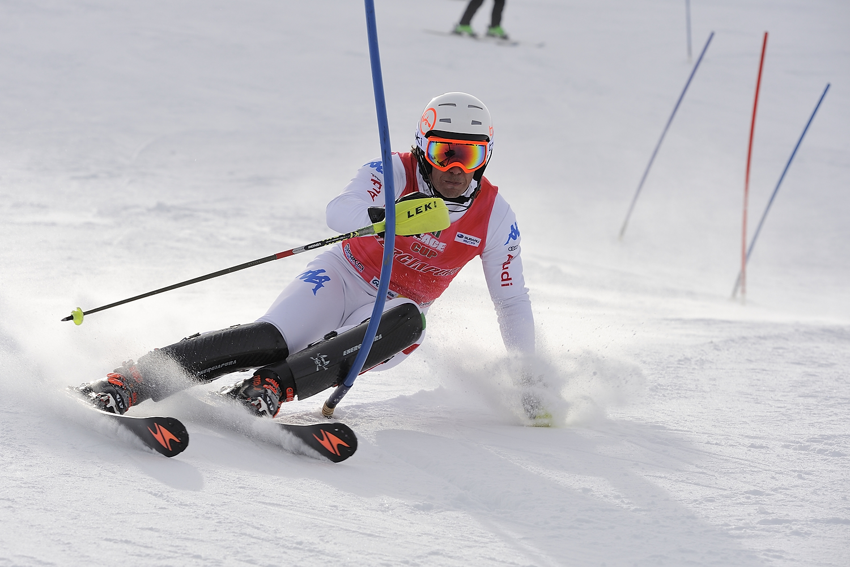 Francesco Bertolini in slalom