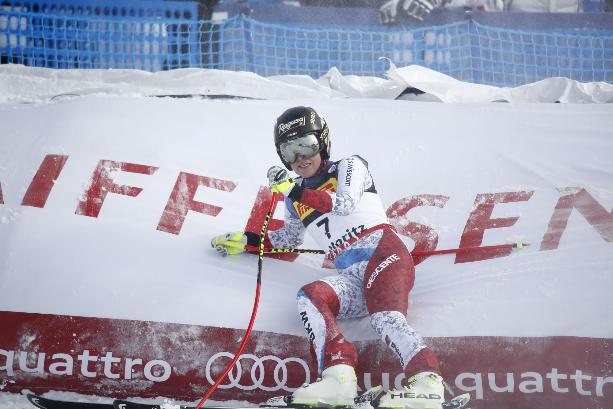 Lara Gut a St. Moritz (@Zoom agence)
