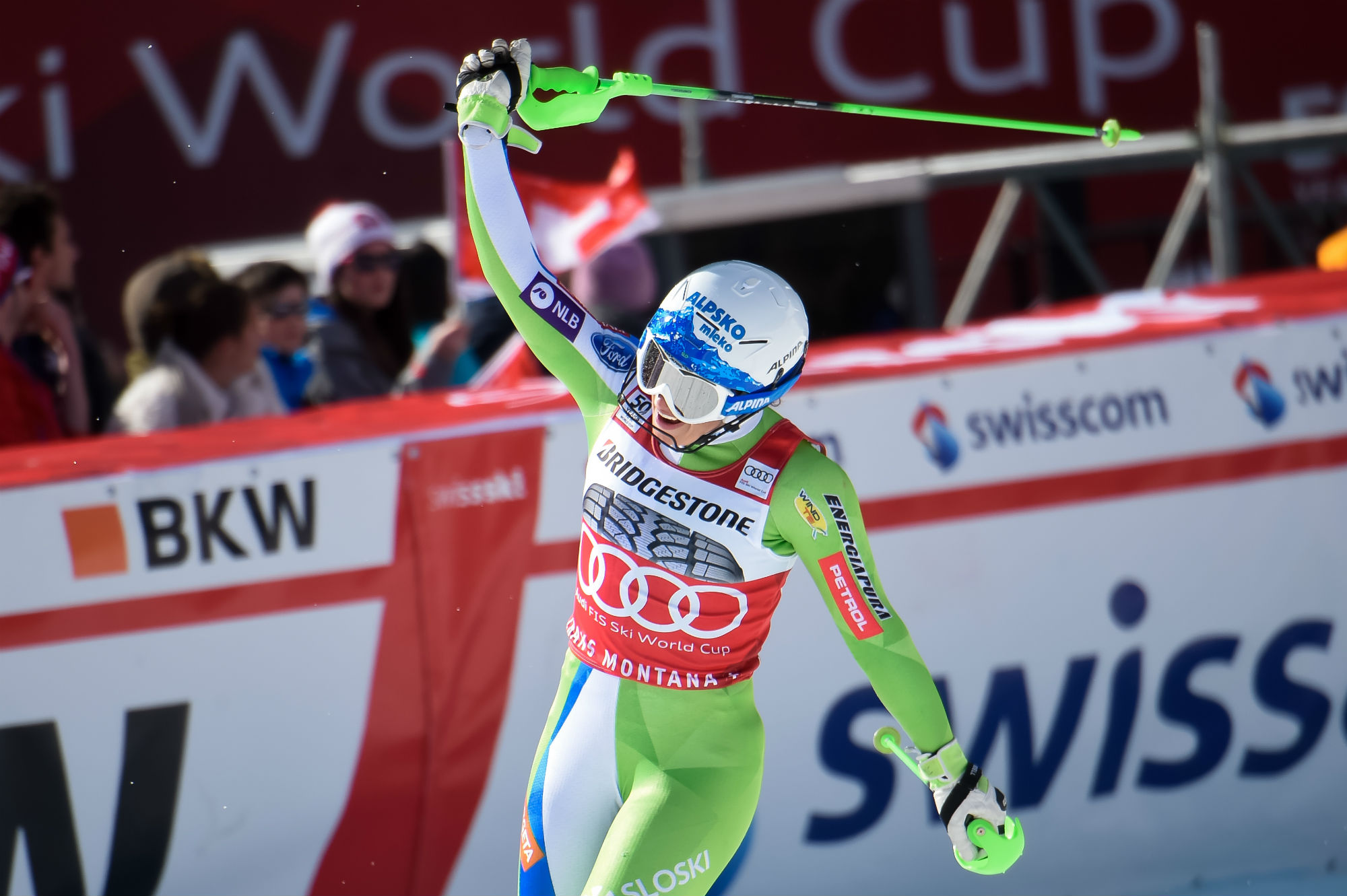 Ilka Stuhec, è sua la Coppa di combinata alpina (@Zoom agence)