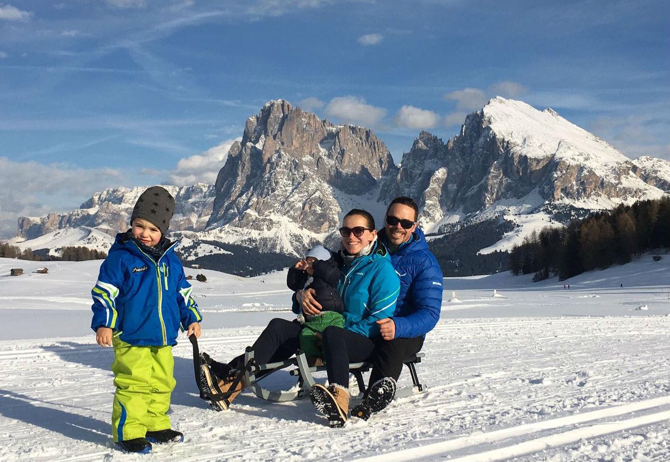Con la famiglia all'Alpe di Siusi