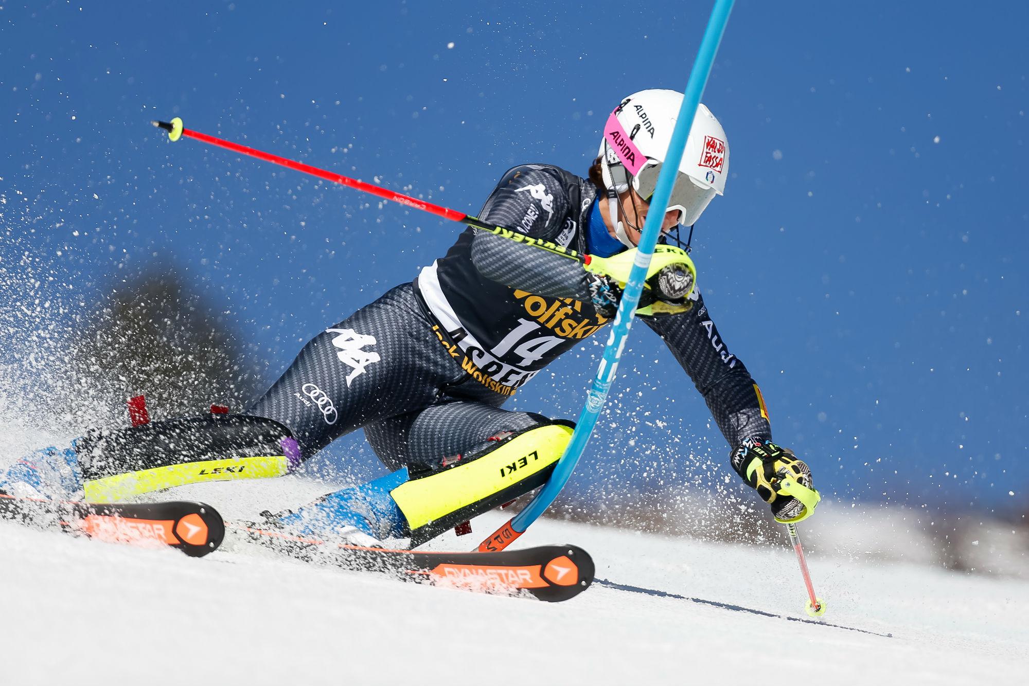 Chiara Costazza in azione ad Aspen (@Zoom agence)