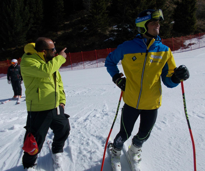 Ski Team Nidec - FVG in ricognizione sulla Mediolanum ©Gabriele Pezzaglia