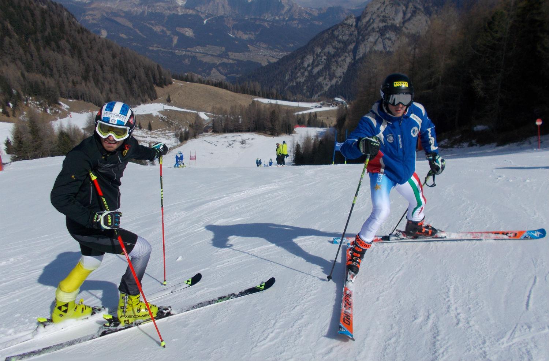 Manfred Moelgg e Giulio Bosca in ricognizione ©Gabriele Pezzaglia